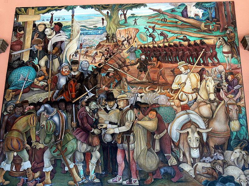 Mural Diego Rivera - Mexico
