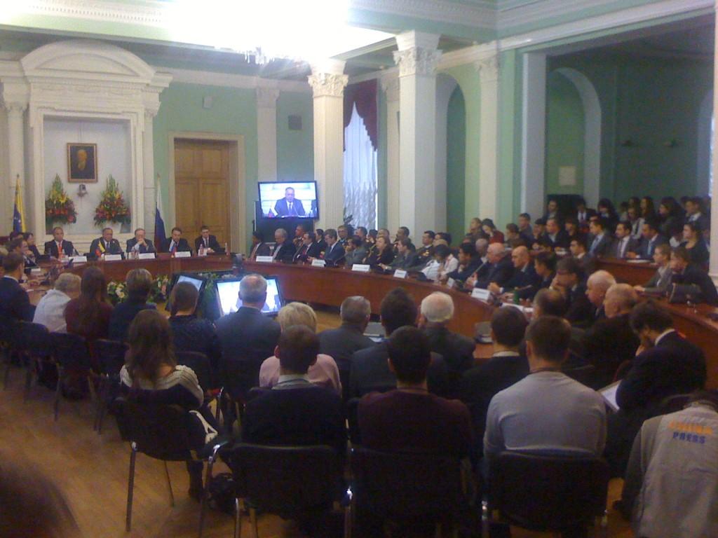 Academia Diplomatica de Rusia - Conferencia del el Presidente de la Asamblea Nacional, Diosdado Cabello Rondón (Viernes, 4 de Octubre de 2013)