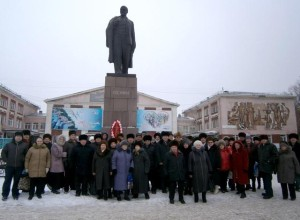 Altai-Russia-In_Conmemoration_of_Lenin-21.01.2014