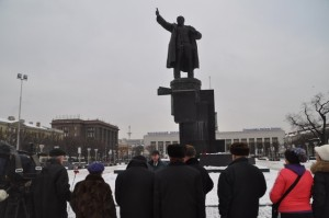 Kranogvardeysky_&_Kalininsky_districts_of_St.-Petersburg_city-Russia-In_Conmemoration_of_Lenin-21.01.2014