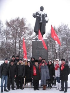 Perm_city-Russia-In_Conmemoration_of_Lenin-21.01.2014
