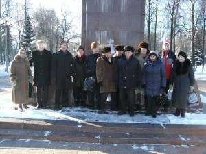 Podolsk_city-Russia-In_Conmemoration_of_Lenin-21.01.2014