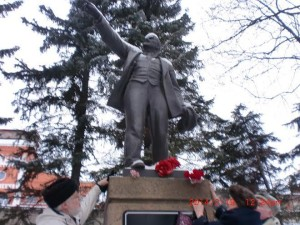 Primorsky_district_of_St.-Petersburg_city-Russia-In_Conmemoration_of_Lenin-21.01.2014