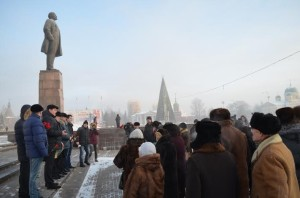 Tula_city-Russia-In_Conmemoration_of_Lenin-21.01.2014